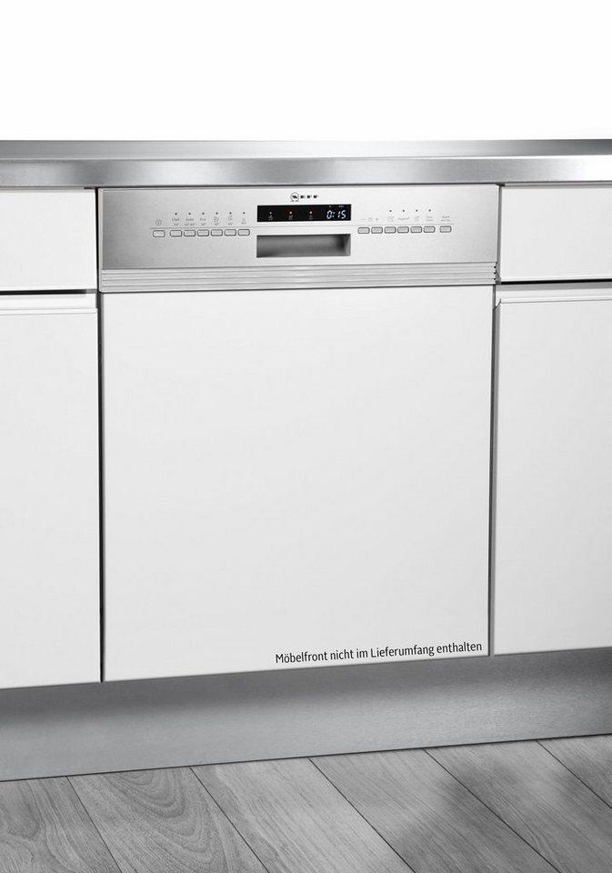 NEFF Teilintegrierbarer Geschirrspüler S413G60S0E, A++, 9,5 Liter, 12 Maßgedecke in weiß