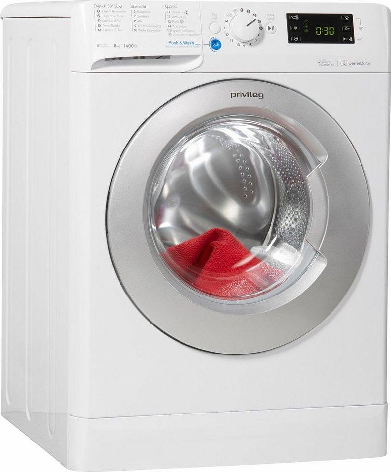 privileg waschmaschine pwf x 843 s 8 kg 1400 u min online kaufen otto. Black Bedroom Furniture Sets. Home Design Ideas