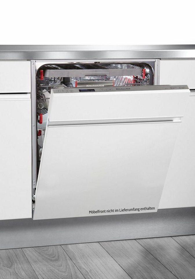 KitchenAid Vollintegrierbarer Einbaugeschirrspüler KDSDM82130, A+++, 10 Liter, 13 Maßgedecke