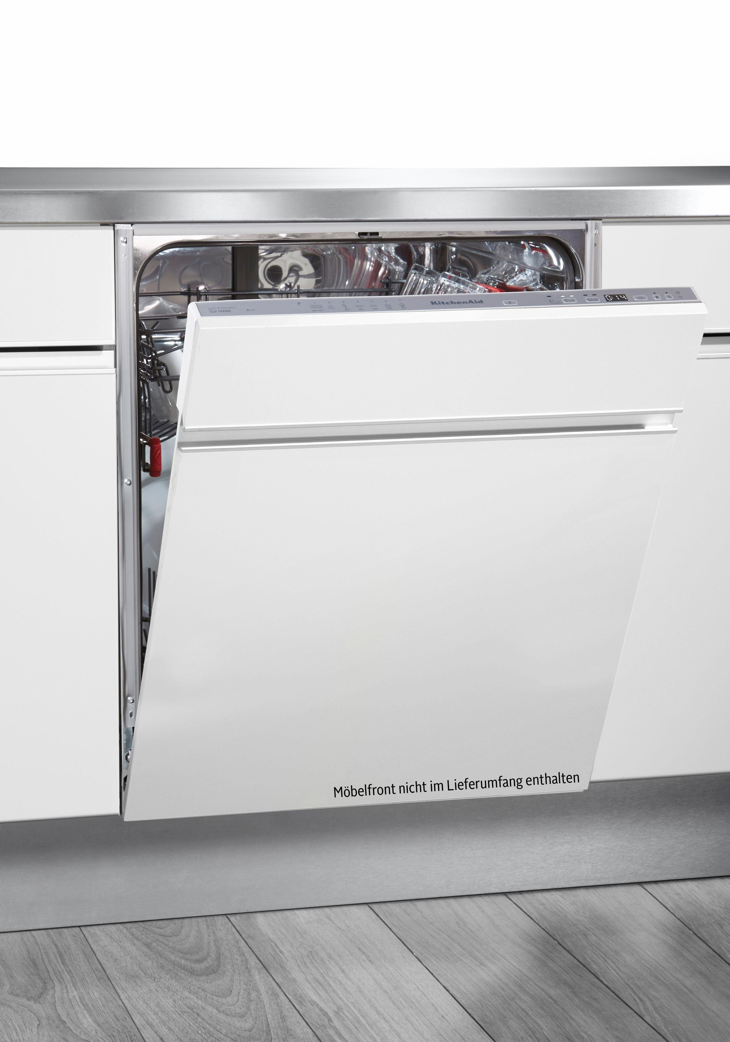 KitchenAid Vollintegrierbarer Einbaugeschirrspüler KDSCM82130, A++, 9 Liter, 13 Maßgedecke