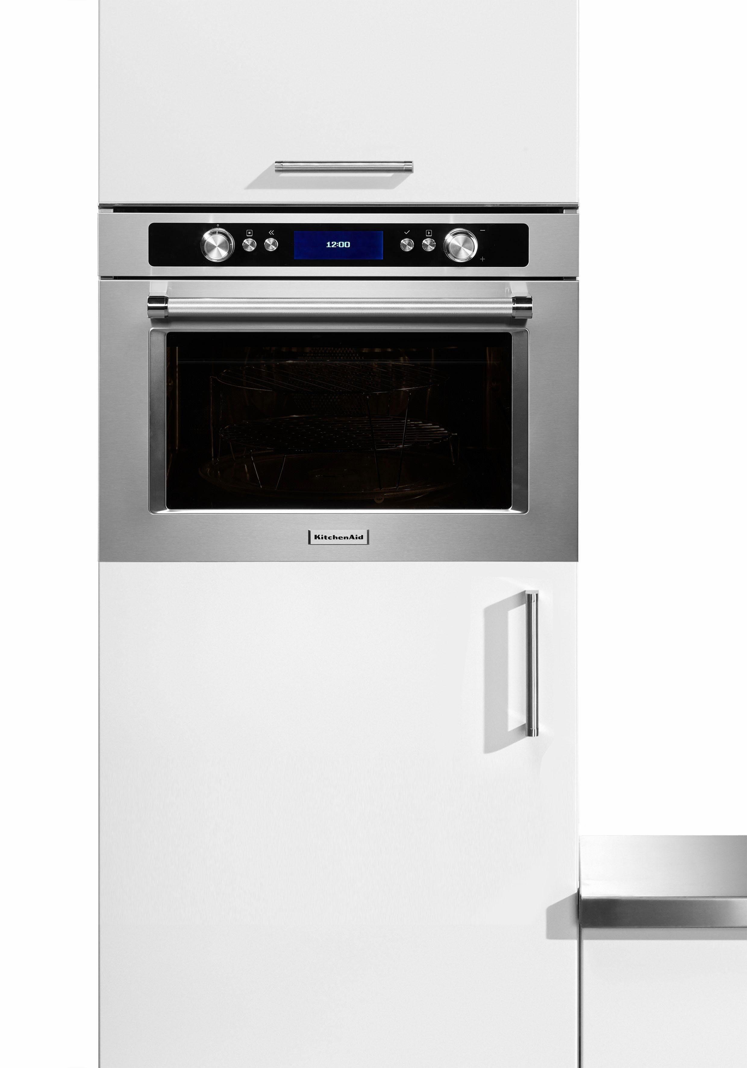 KitchenAid® Einbaumikrowelle KMQCX 45600, mit Backofenfunktion, 40 Liter, 900 Watt