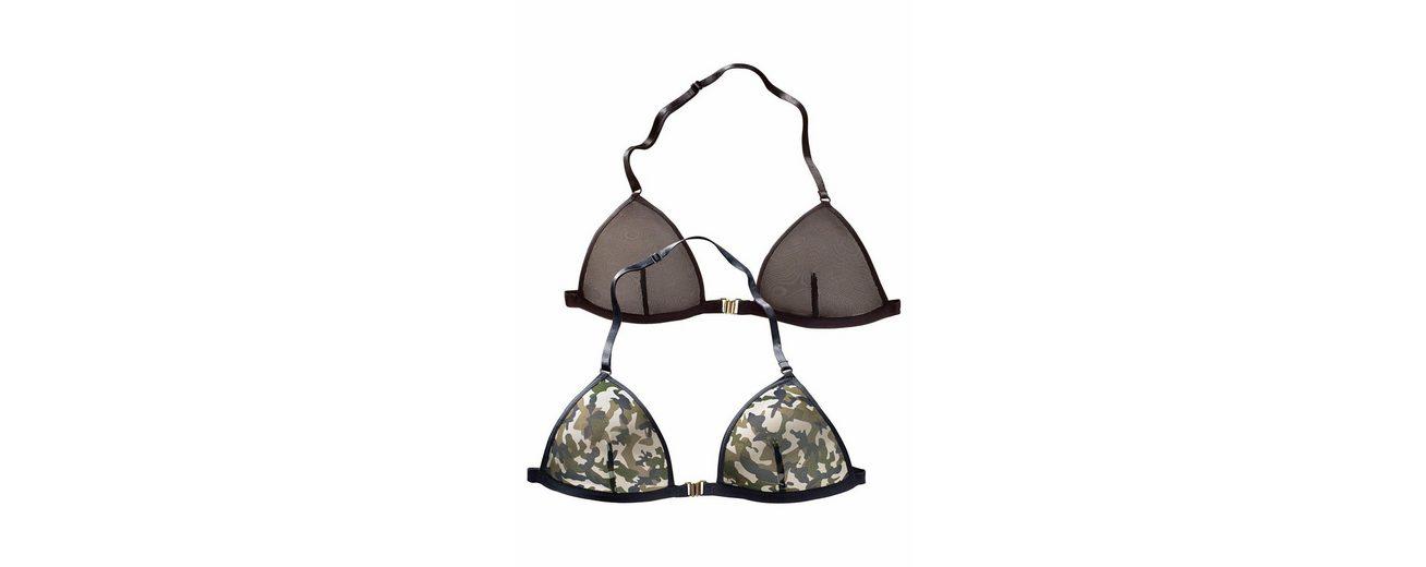Buffalo Sexy Mini-Bra mit Vorderverschluss (2 Stück) Großhandelspreis Online sAq59fokkU