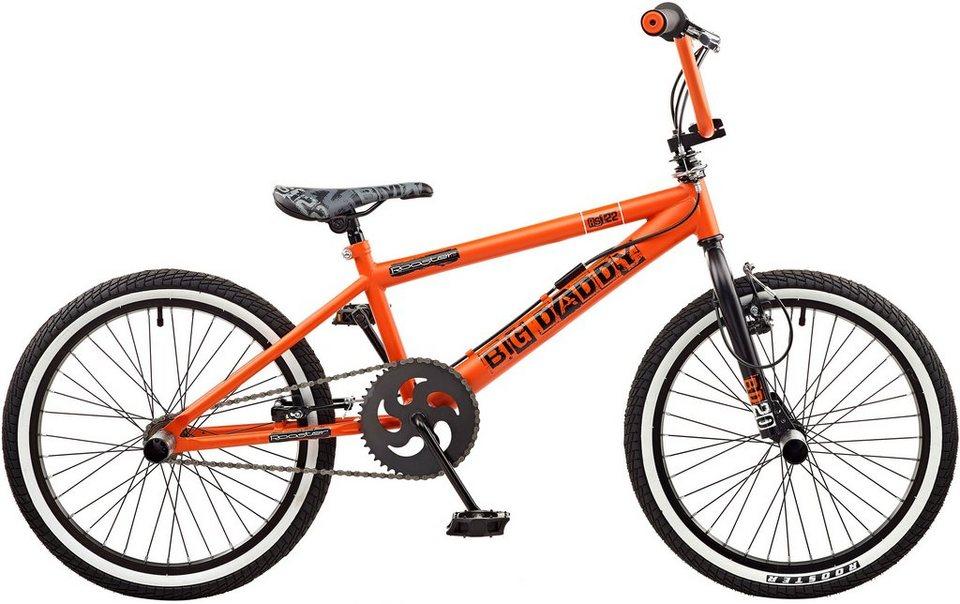 Rooster BMX, 20 Zoll, »Big Daddy spoked« in schwarz-orange