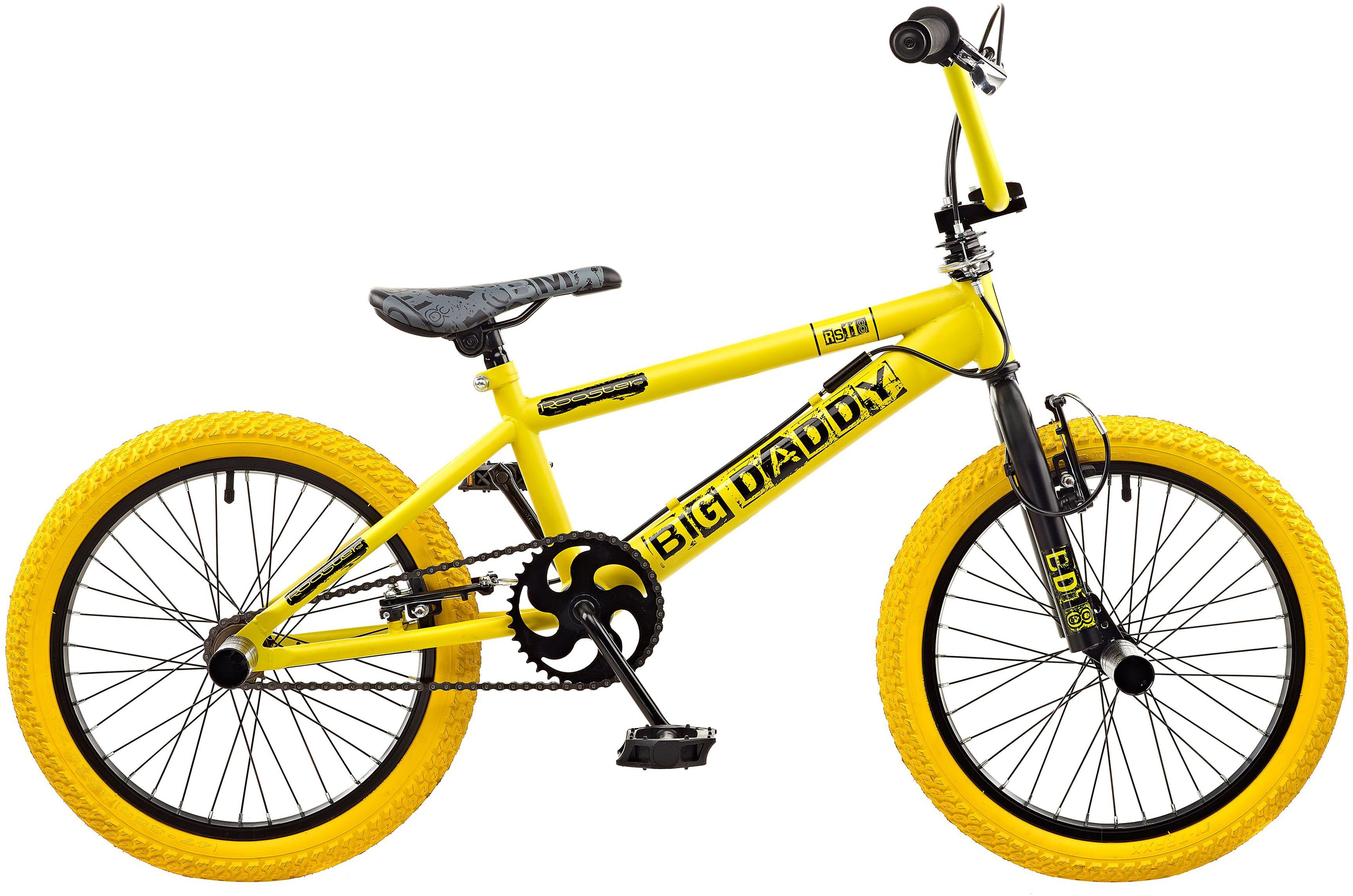 Rooster BMX, 18 Zoll, »Big Daddy spoked«