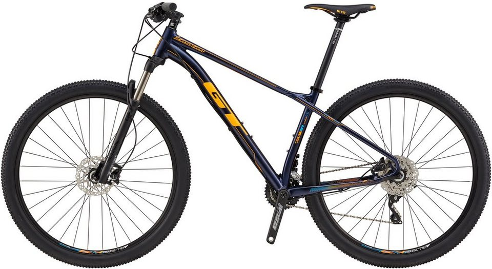 gt hardtail mountainbike 29 zoll 20 gang shimano. Black Bedroom Furniture Sets. Home Design Ideas