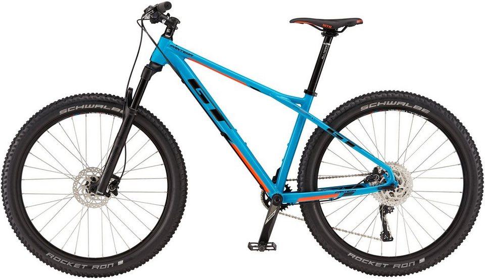 GT Hardtail Mountainbike, 27,5 Zoll, 11 Gang Shimano Kettenschaltung, »Pantera Expert« in blau