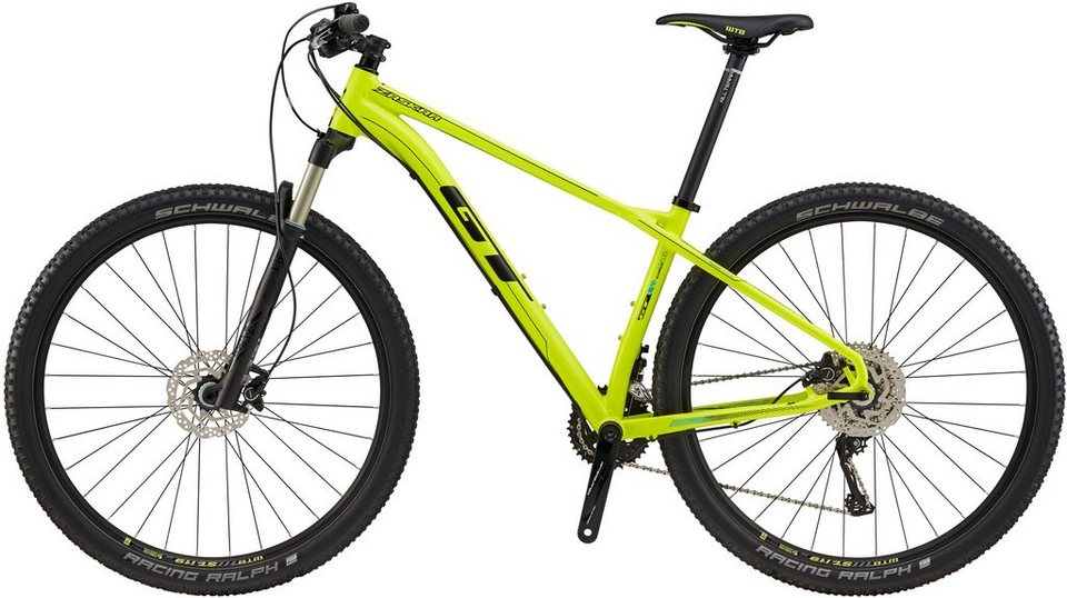 gt hardtail mountainbike 29 zoll 22 gang shimano. Black Bedroom Furniture Sets. Home Design Ideas