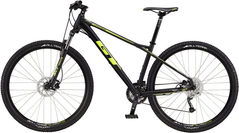 gt hardtail mountainbike 29 zoll 27 gang shimano kettenschaltung karakoram sport 2017. Black Bedroom Furniture Sets. Home Design Ideas