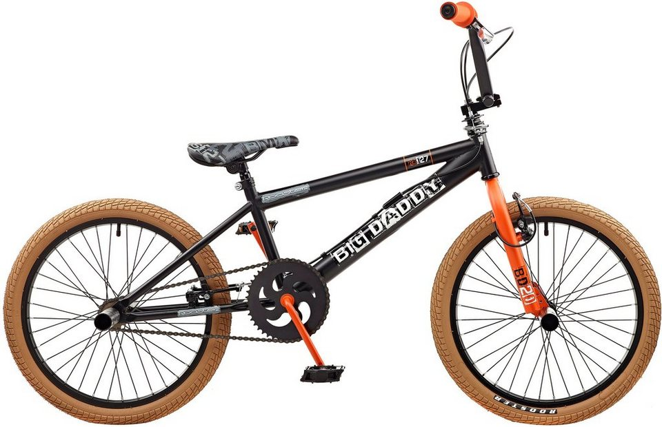 Rooster BMX, 20 Zoll, »Big Daddy spoked« in orange-schwarz