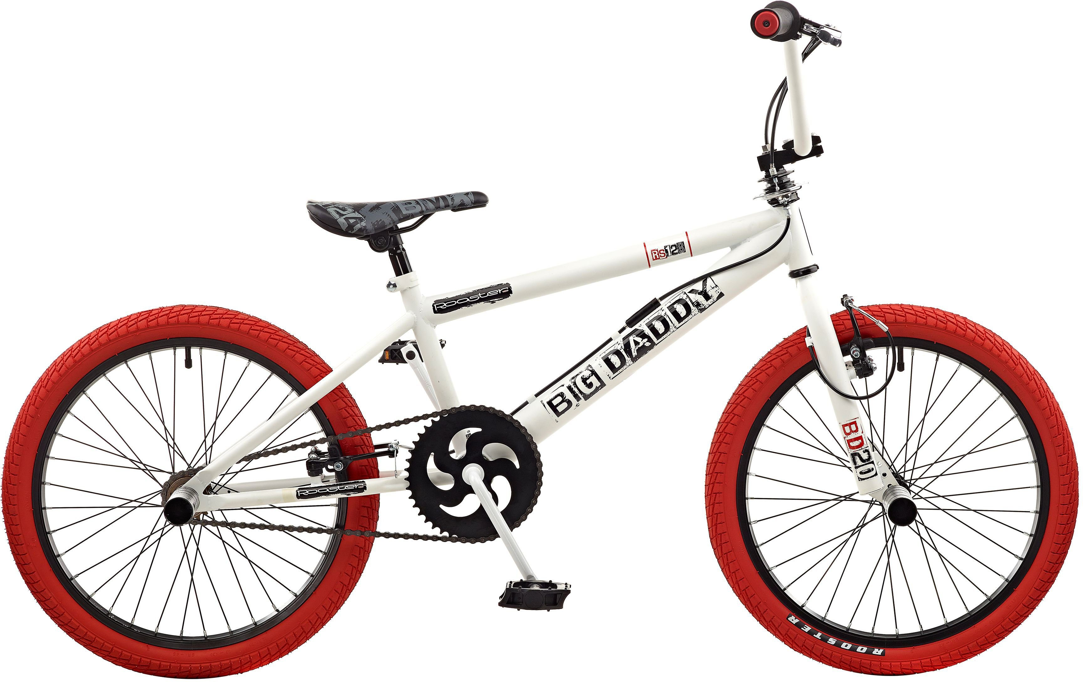 Rooster BMX, 20 Zoll, »Big Daddy spoked«