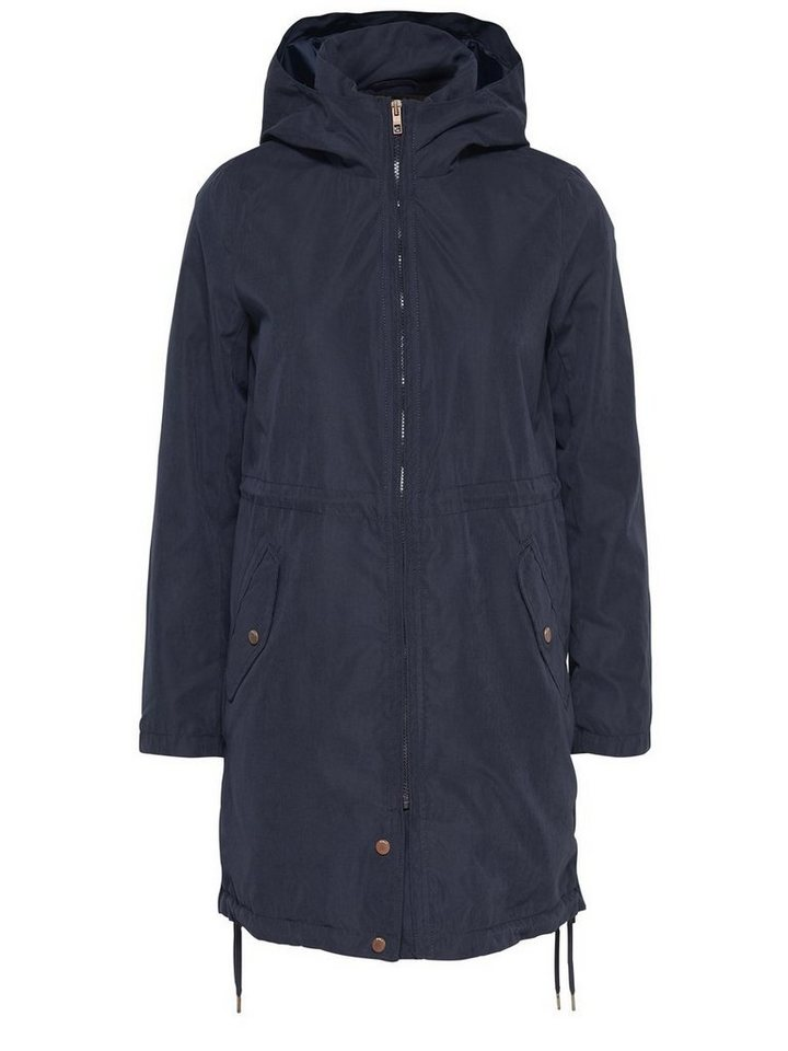 Only Einfarbiger Parka in Night Sky