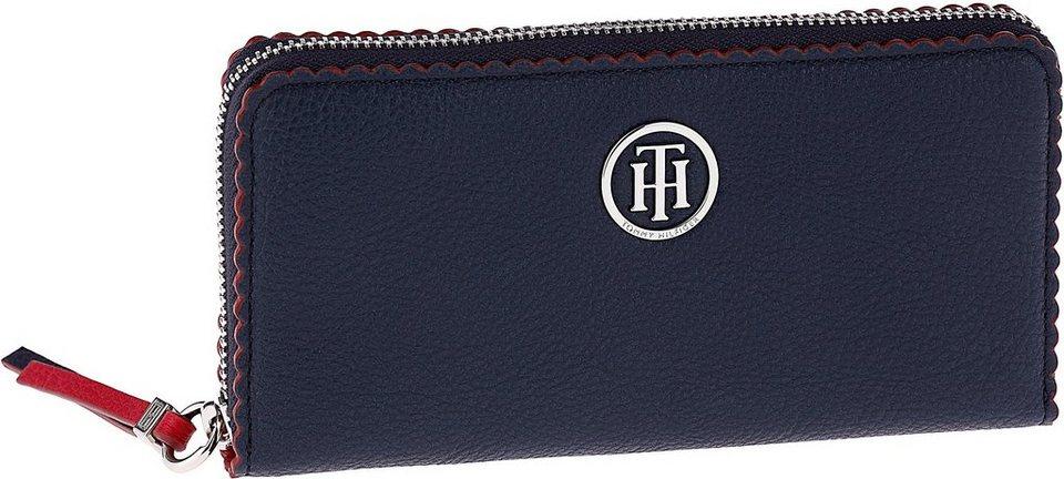 Tommy Hilfiger Geldbörse »Fashion Novelty Large Wallet« in dunkelblau