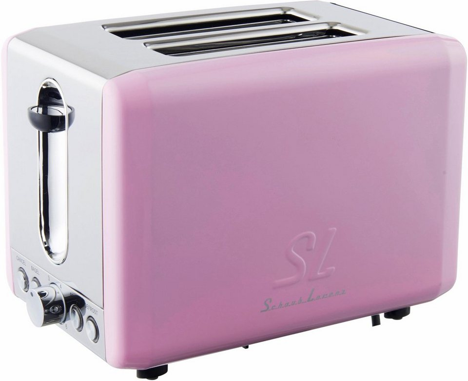 Schaub Lorenz Toaster SL T2.1SP, 850 Watt, pink in pink