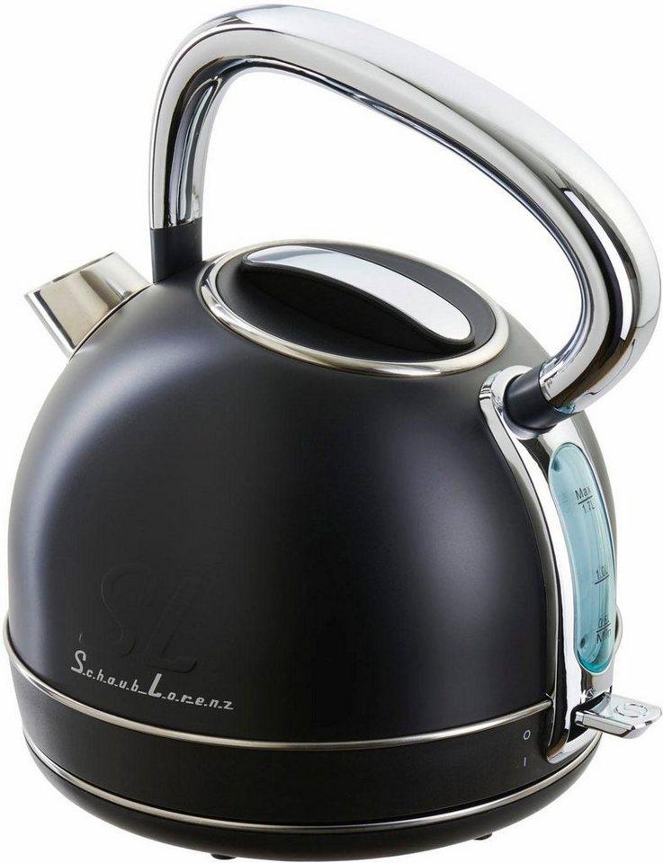 Schaub Lorenz Wasserkocher SL W1 B, 1850-2200 Watt, schwarz in schwarz