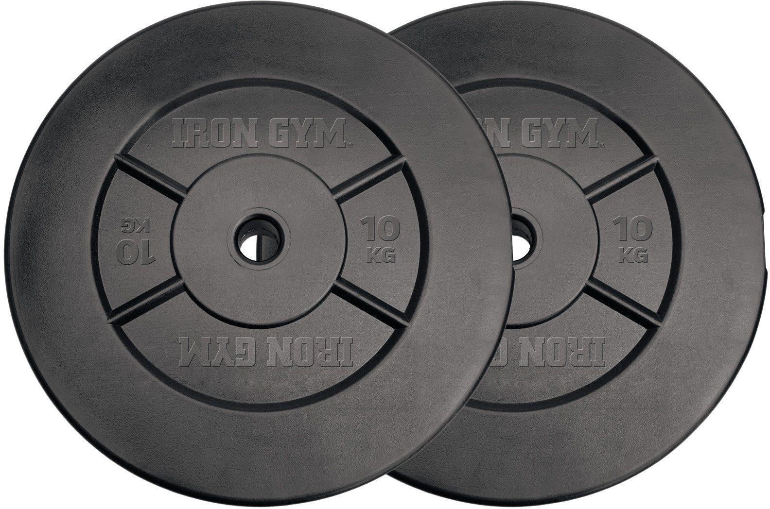 Iron Gym Hantelscheiben, (Packung, 2 tlg)