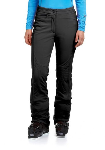 Soft Shell Maier Sports Ski Pants Marie, Made Of Elastic