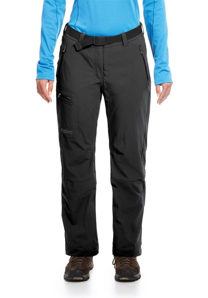 MAIER SPORTS Outdoorhose »Rechberg« in black