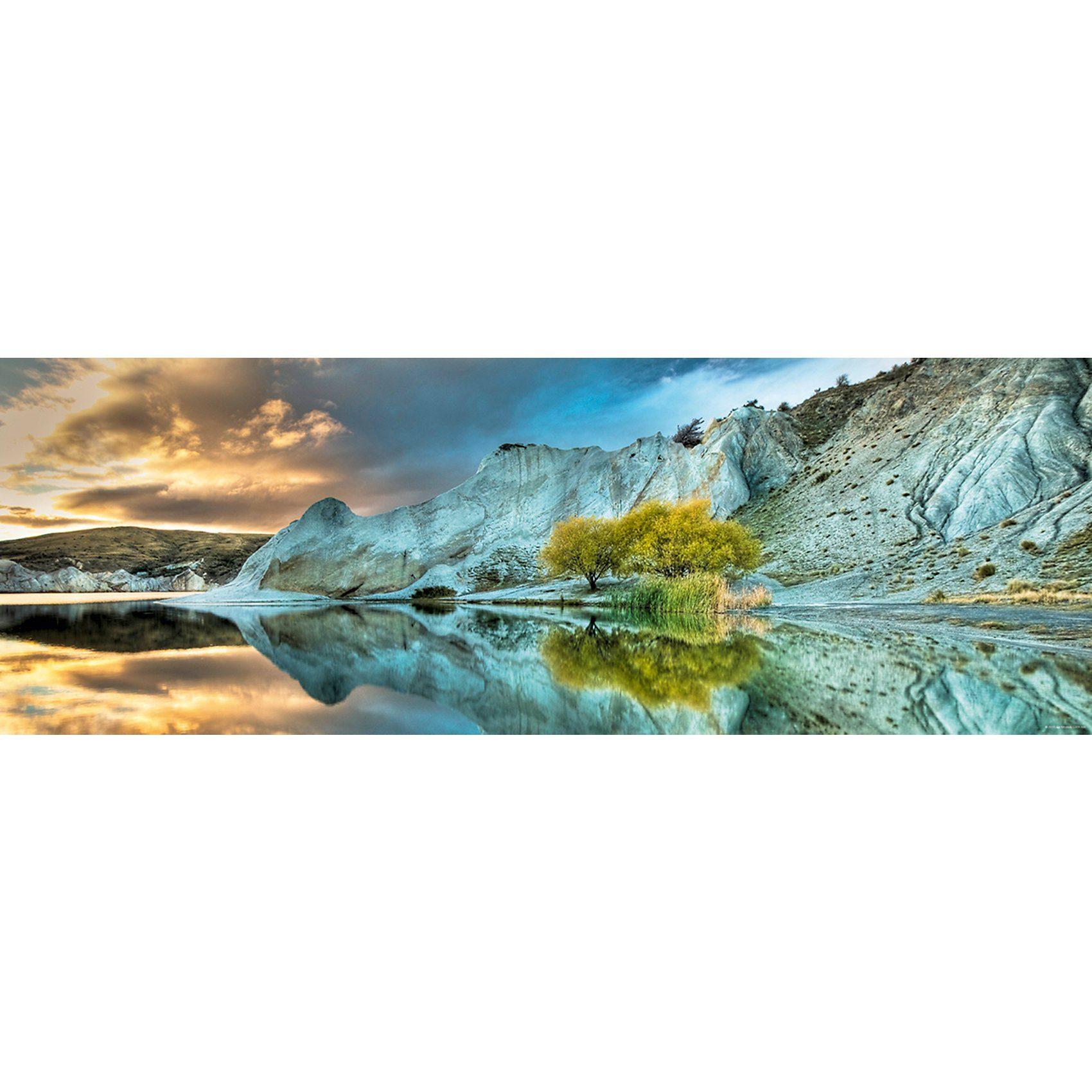 HEYE Panorama-Puzzle 1000 Teile - Blue Lake
