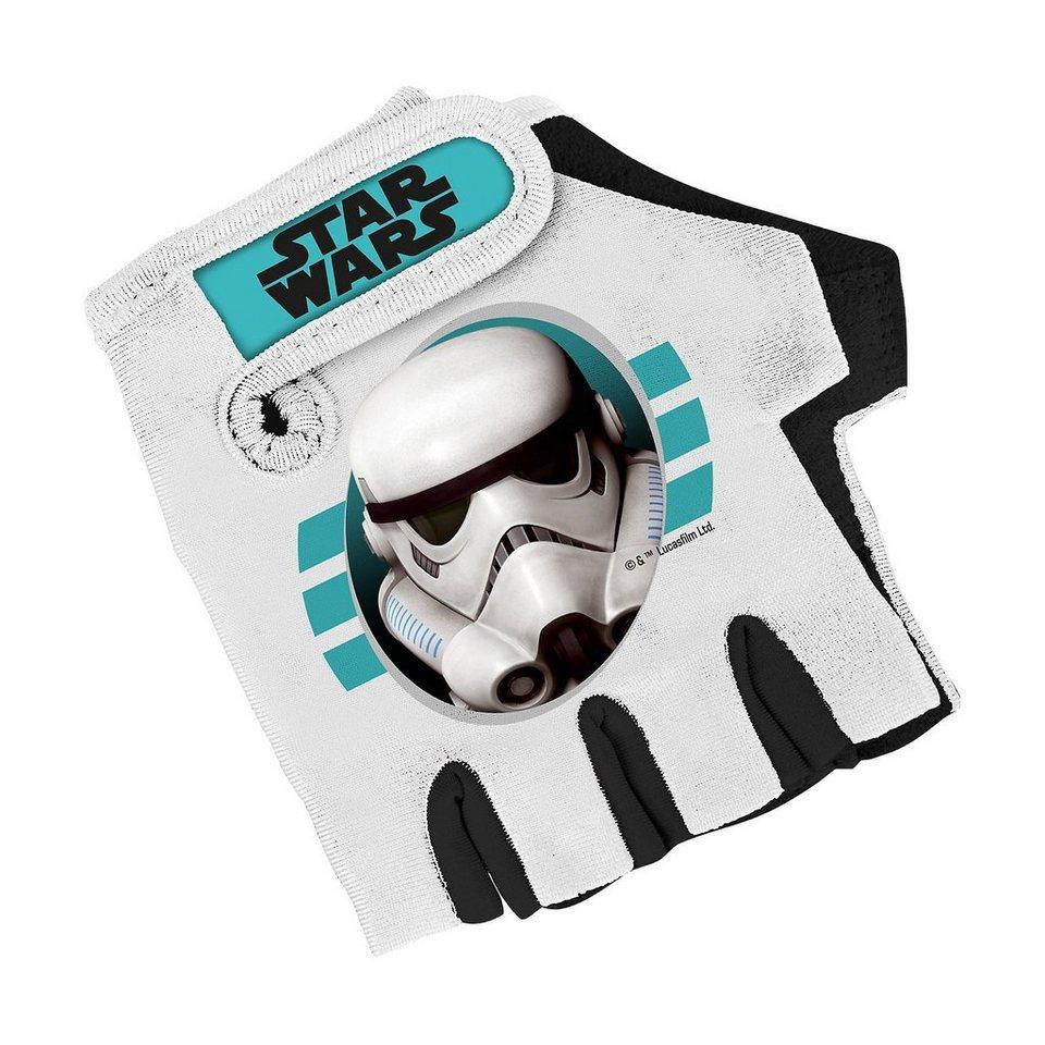 Stamp Star Wars Fahrradhandschuhe in schwarz