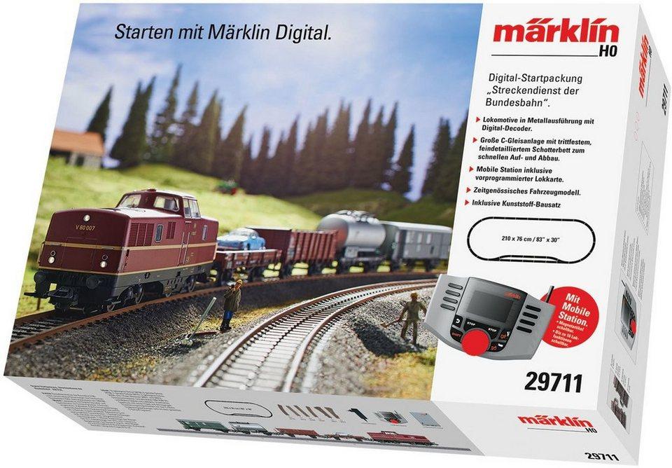 Märklin Digital-Startpackung, »Streckendienst der Bundesbahn - 29711«