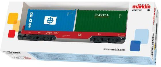 Märklin Güterwagen, Spur H0 - 44700, »Märklin Start up, Containerwagen DB AG, Wechselstrom«