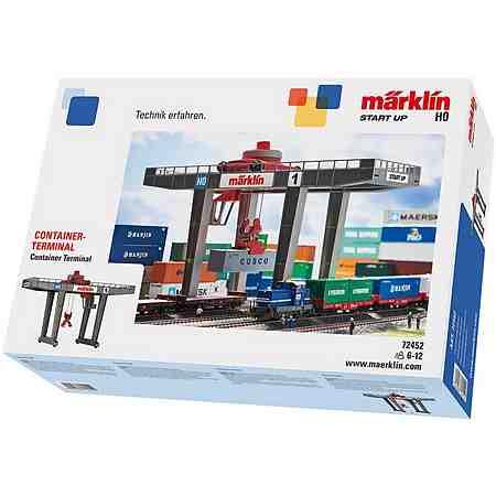 Märklin Bausatz, Spur H0 - 72452, »Märklin Start up, Containerterminal«