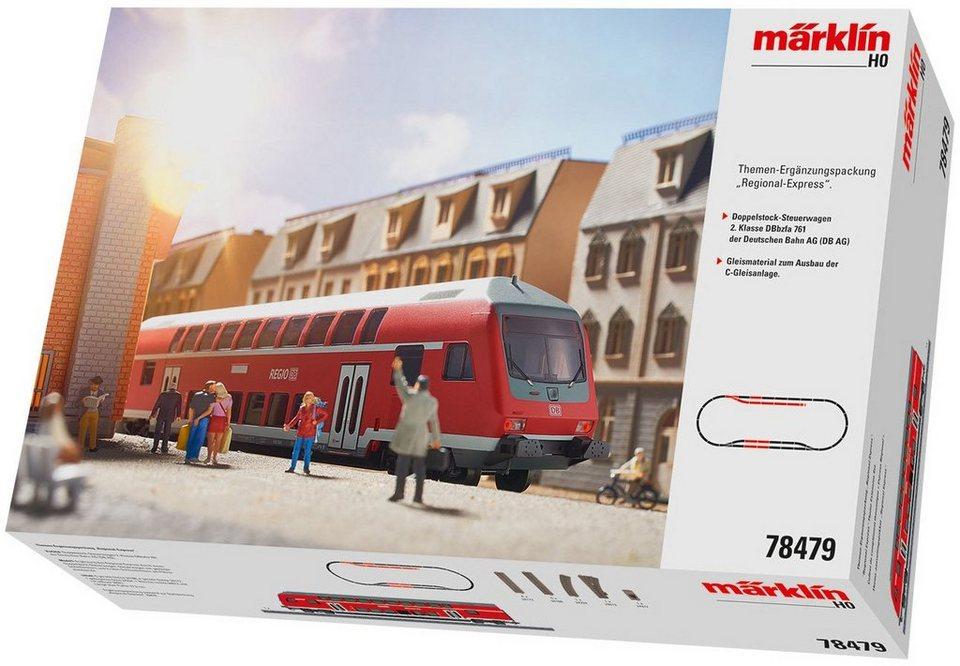 Märklin Ergänzungspackung, Spur H0 - 78479, »Ergänzungs Set Regional Express, Wechselstrom«