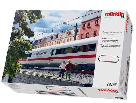 Märklin Personenwagen »Ergänzungsset BordRestaurant ICE 2, Wechselstrom - 78792«, Spur H0