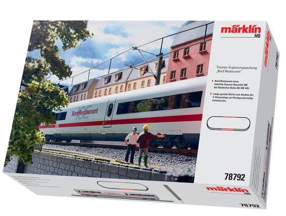 Märklin Ergänzungspackung - 78792, »Ergänzungsset BordRestaurant ICE 2, Wechselstrom«