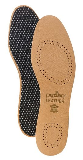 Pedag Aktivsohlen »Leather«, mit Aktivkohlefilter