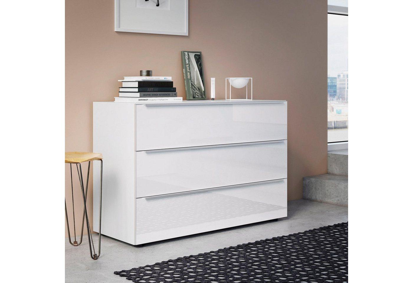 Nolte Kommode Alegro : nolte® Möbel Kommode »Alegro Style«, Breite 160 cm Glasfronten