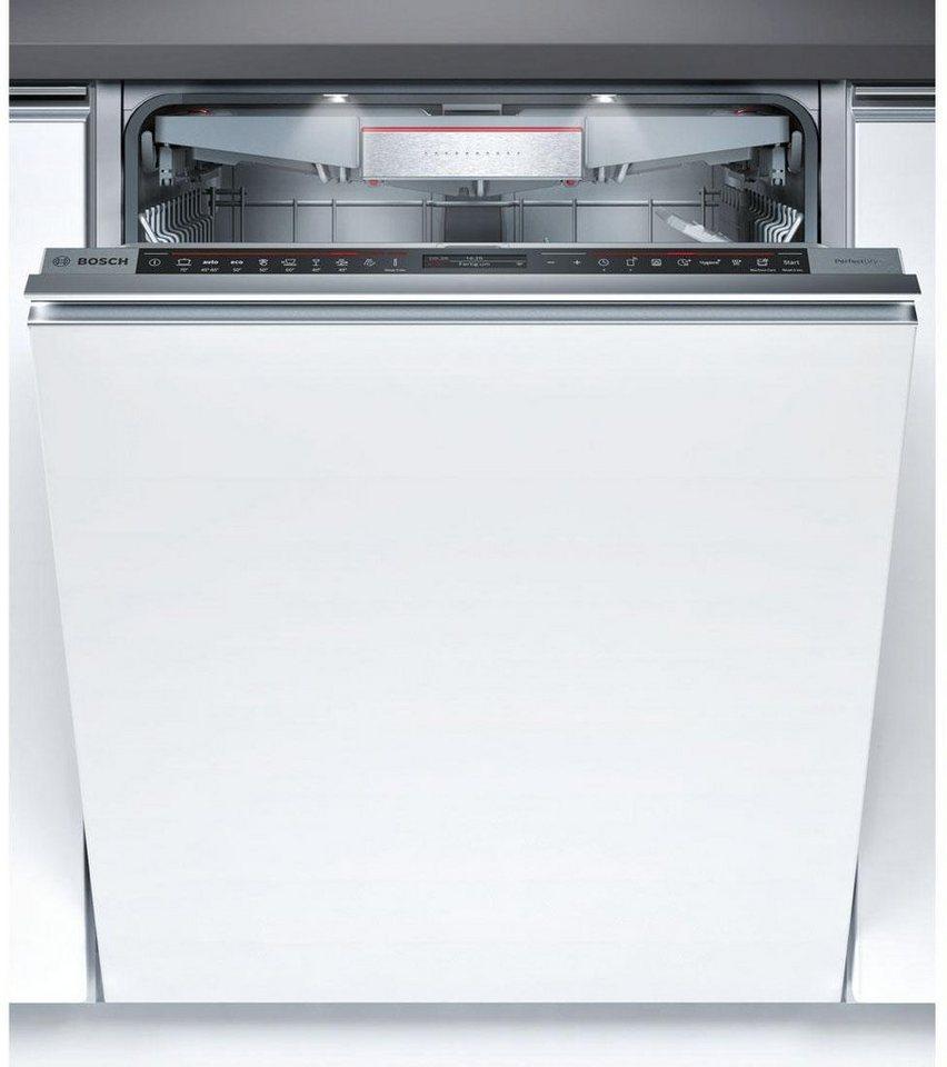 BOSCH Vollintegrierbarer Einbaugeschirrspüler SMV88TX36E, A+++, 7,5 Liter, 13 Maßgedecke in silberfarben
