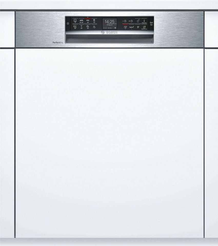Bosch teilintegrierbarer geschirrspuler serie 6 smi68ts06e for Teilintegrierbarer geschirrspüler