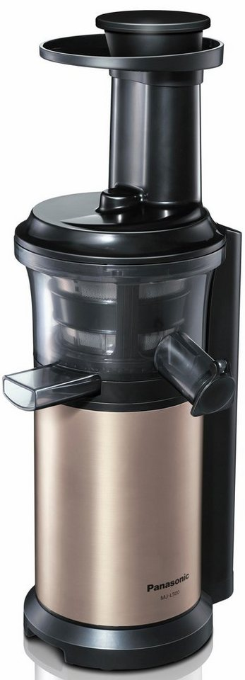 Panasonic Slow Juicer Mj L500nxe : Panasonic Slow Juicer MJ-L500NXE, Edelstahl/Champagner online kaufen OTTO