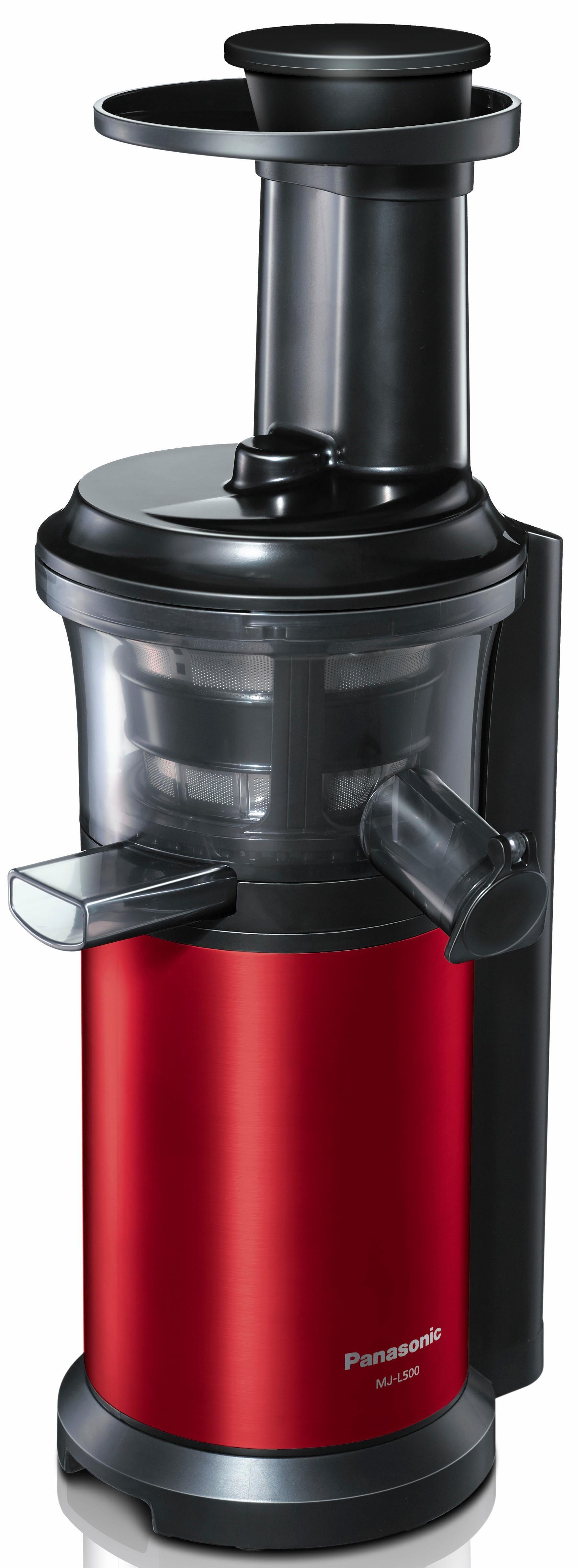 Slow Juicer MJ-L500RXE, Edelstahl/Rot