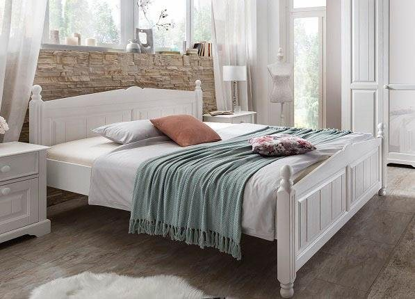 Bett, Premium collection by Home affaire, »Pisa« in weiß