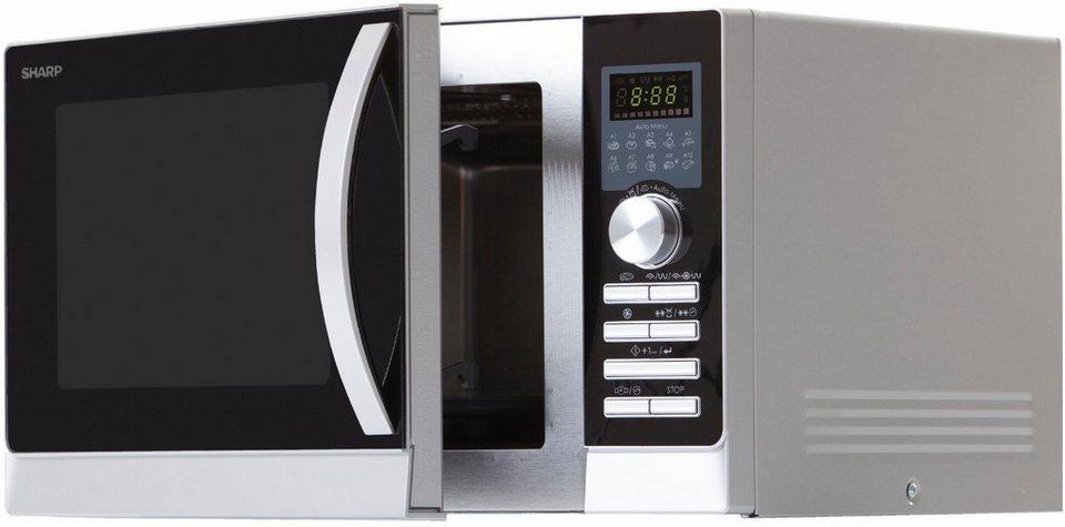 Sharp Mikrowelle R843inw 900 W Mit Doppelgrill Und Heißluft Online