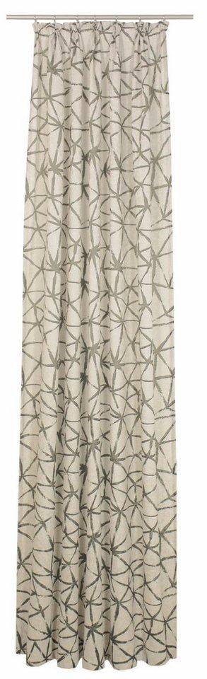 Vorhang, Wirth, »LISBURN«, mit Kräuselband (1 Stück) in beige