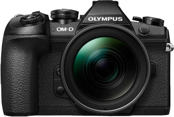 Olympus E-M1 Mark II inkl. 12-40mm PRO Objektiv schwarz System Kamera, 7,6 cm (3 Zoll) Display in schwarz