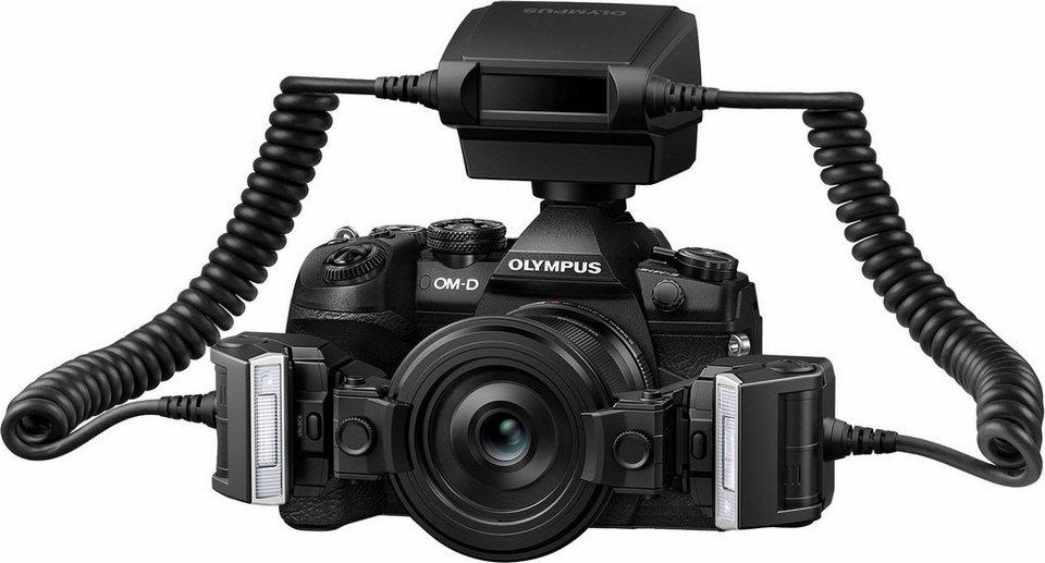Olympus STF 8 Blitzgerät in Schwarz