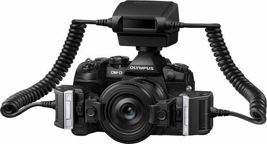 Olympus »STF 8« Blitzgerät, (ISO 100 Ein Blitz (GN 6.0) / Zwei Blitze (GN 8.5)