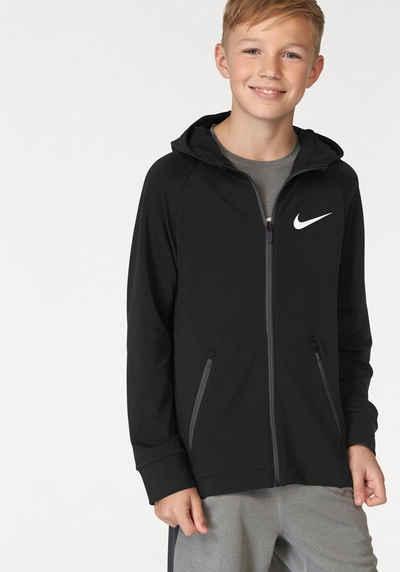 Nike Trainingsjacke »BOY NIKE DRY HOODIE FZ HYPER FLC« Sale Angebote Briesen