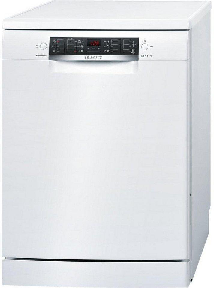 BOSCH Geschirrspüler SMS46CW01E, A+++, 9,5 Liter, 13 Maßgedecke in weiß