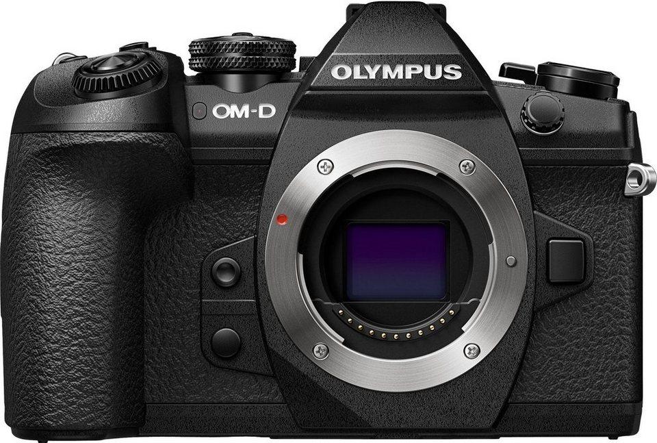 Olympus E-M1 Mark II Body schwarz System Kamera, 7,6 cm (3 Zoll) Display in schwarz