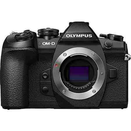 Olympus E-M1 Mark II Body schwarz System Kamera, 7,6 cm (3 Zoll) Display