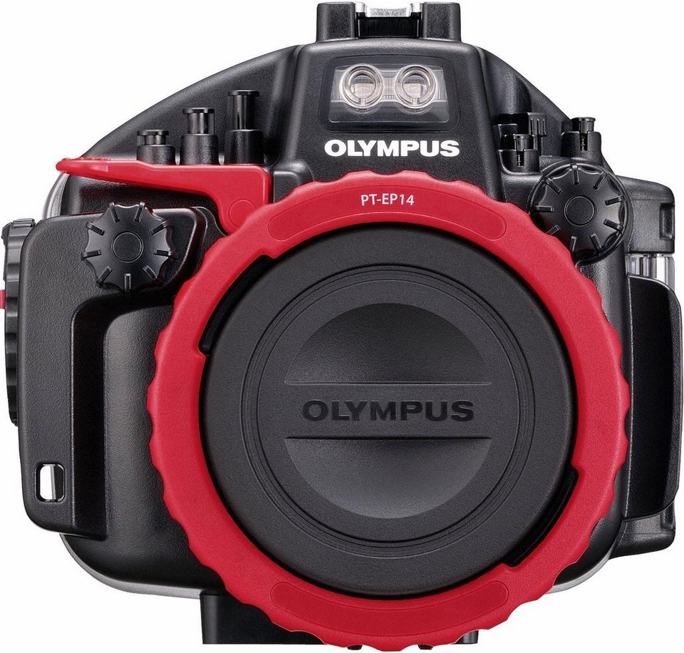 Olympus PT EP14_UW UW-Gehäuse in Schwarz