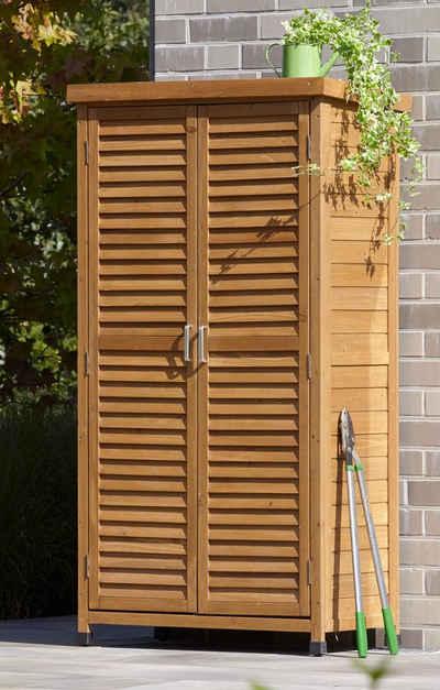 Gartenschrank Holz gartenschrank geräteschrank kaufen otto