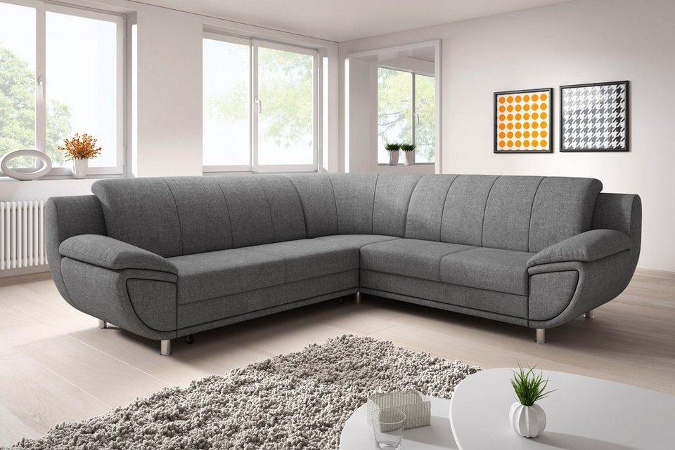 trendmanufaktur ecksofa wahlweise mit bettfunktion individuell zu kombinieren online kaufen otto. Black Bedroom Furniture Sets. Home Design Ideas