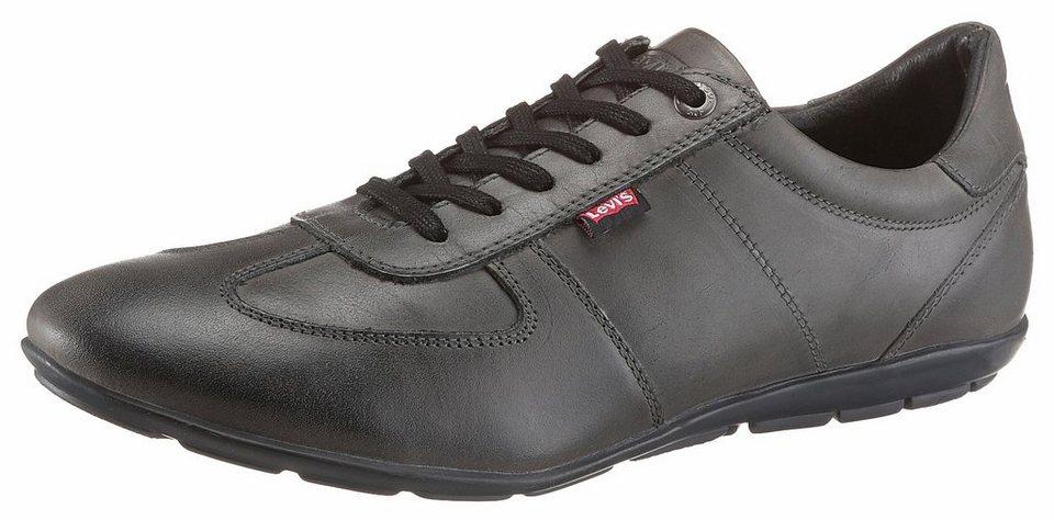 Levi's® Sneaker mit gepolstertem Schaftrand in grau-used