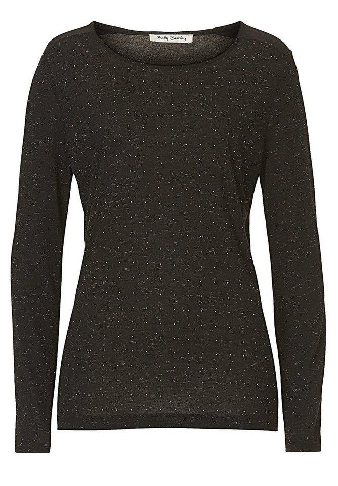 Betty Barclay Shirt in Schwarz - Schwarz